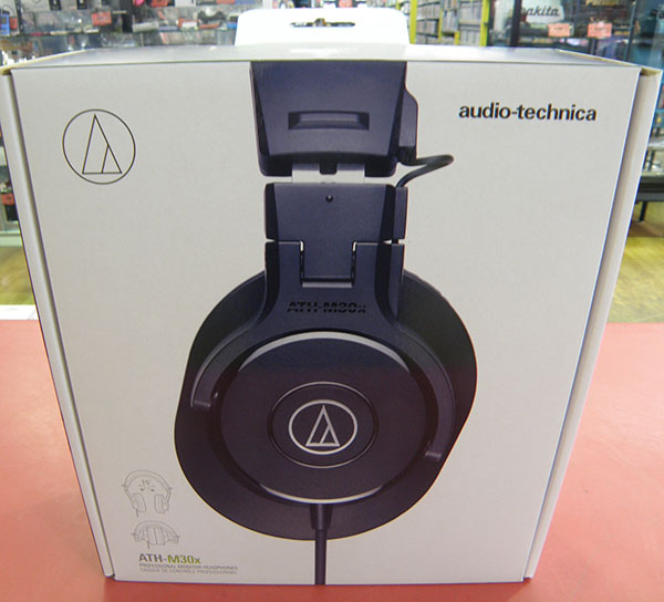audio-technica ヘッドホン ATH-M30x| ハードオフ安城店