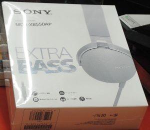 SONY ステレオヘッドフォン MDR-XB550AP| ハードオフ西尾店