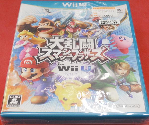 任天堂株式会社 大乱闘スマッシュブラザーズ for Wii U WUP-P-AXFJ| ハードオフ西尾店