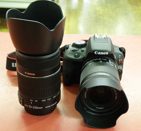 Canon  デジタル一眼カメラ EOS Kiss X7 ダブルズームキット| ハードオフ安城店