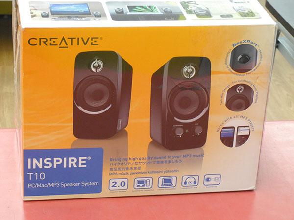 CREATIVE INSPIRE T102ウェイスピーカー| ハードオフ西尾店