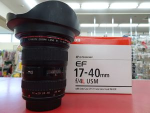 レンズお売り頂けました! EF17-40mm F/4L USM| ハードオフ三河安城店