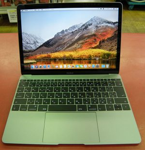 APPLE  Mac Book A1534 EMC 3099  (Mid-2017)| ハードオフ安城店