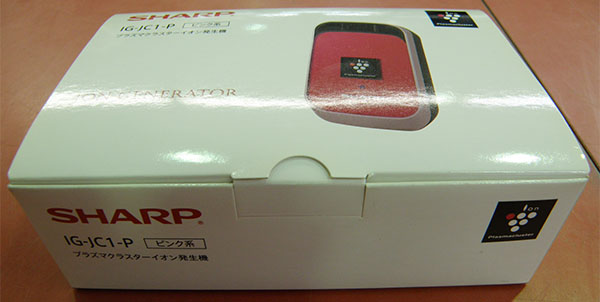 SHARP  プラズマクラスターイオン発生機 IG-JC1-P| ハードオフ安城店