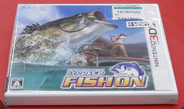 アスキー・メディアワークス/角川ゲームス フィッシュオン CTR-PAFAJ| ハードオフ西尾店