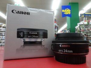 キヤノン 単焦点レンズ EFS 24mm f/2.8 STM| ハードオフ三河安城店