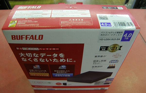 BUFFALO  外付けHDDHD-LDS4.0U3-BA| ハードオフ安城店