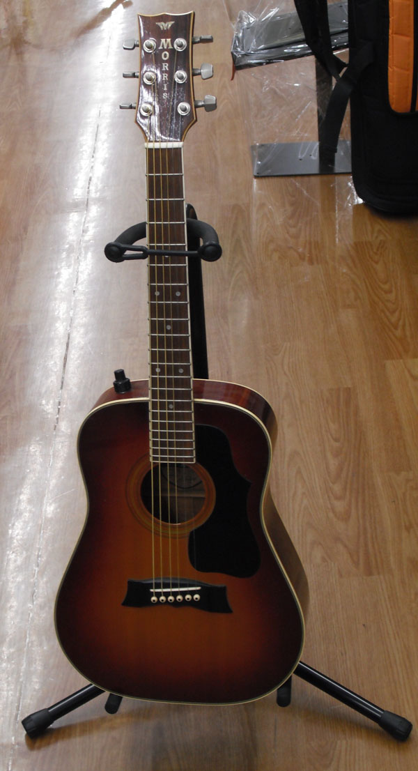 Morris ミニエレアコギター MG-62E| ハードオフ西尾店