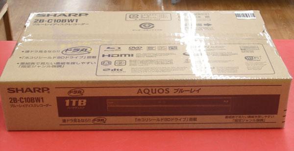 SHARP BD/HDDレコーダー 2B-C10BW1| ハードオフ西尾店