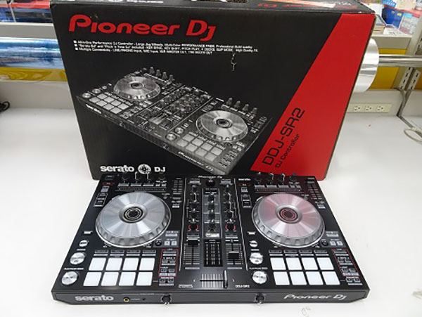 DJコントローラー入荷です! DDJ-SR2| ハードオフ三河安城店
