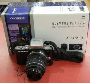 OLYMPUS ミラーレスデジタル一眼カメラ PEN Lite E-PL3 レンズキット| ハードオフ安城店