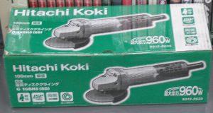 Hitachi Koki 電気ディスクグラインダ G10SH5(SS)| ハードオフ西尾店