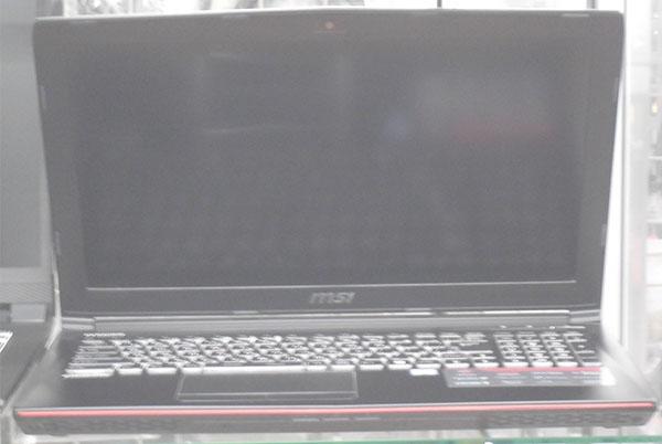 msi ノートパソコン GE62VR 6RF| ハードオフ西尾店