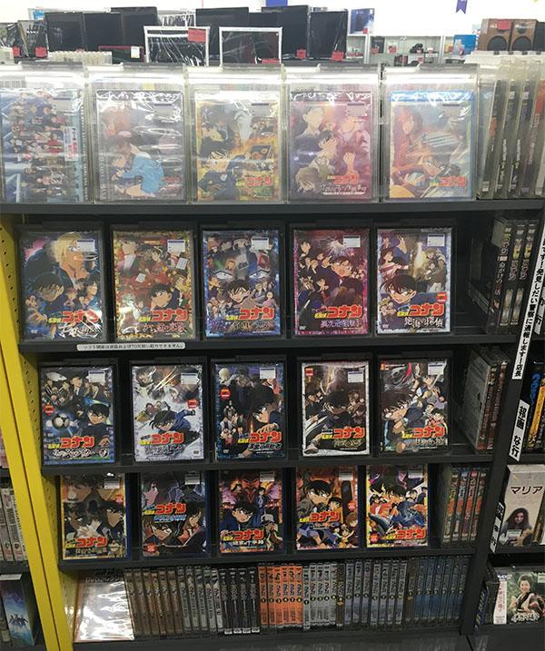 劇場版 名探偵コナンのBD・DVD大量入荷しました| ハードオフ西尾店