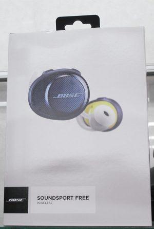 BOSE ワイヤレスイヤホン SOUNDSPORT FREE WIRELESS| ハードオフ西尾店