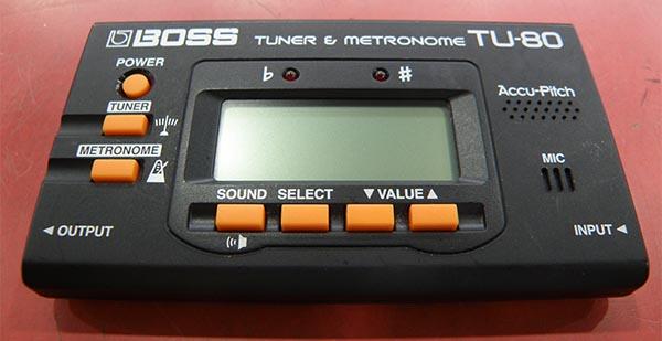 BOSS TU-80 チューナー&メトロノーム| ハードオフ安城店