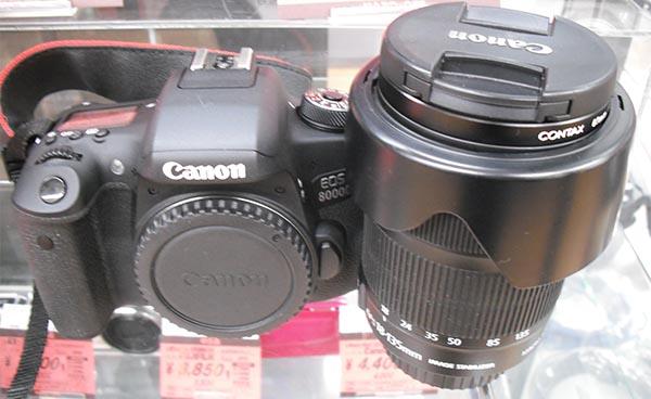 Canon EOS 8000D 一眼レフ| ハードオフ西尾店