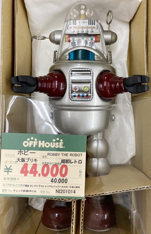 昭和レトロ。ブリキのゼンマイロボット| オフハウス西尾店